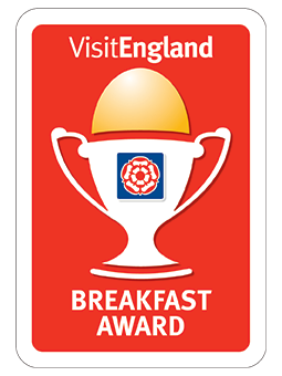 Raddicombe Lodge Visit Britain Breakfast Award | UK Tourism Online