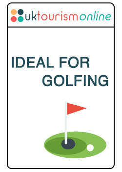 This establishment is ideal for golfing activities | UK Tourism Online