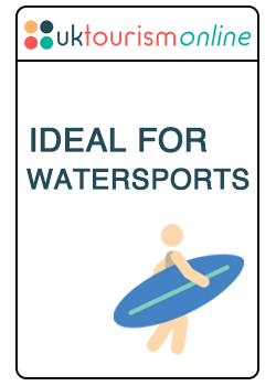 This establishment is ideal for watersports activities | UK Tourism Online