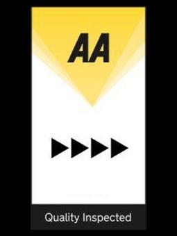 AA 4 Pennant Logo | UK Tourism Online
