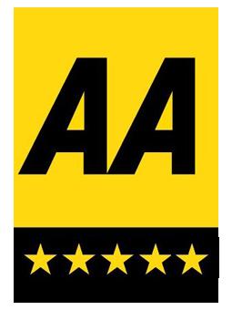 AA 5 Star Logo | UK Tourism Online