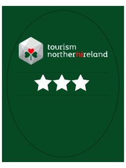 Tourism Northern Ireland 3 Star