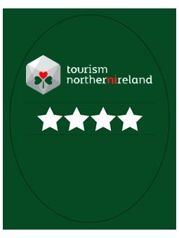 Visit Northern Ireland 4 Star Logo   UK Tourism Online