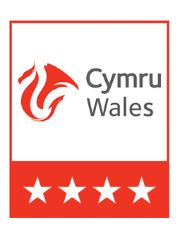 Visit Wales 4 Star Logo | UK Tourism Online