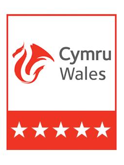 Visit Wales 5 Star Logo | UK Tourism Online